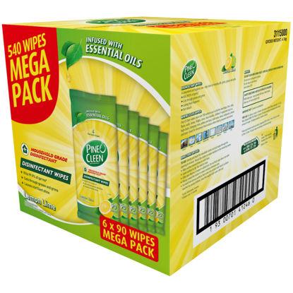 Disinfectant Wipes Lemon Lime